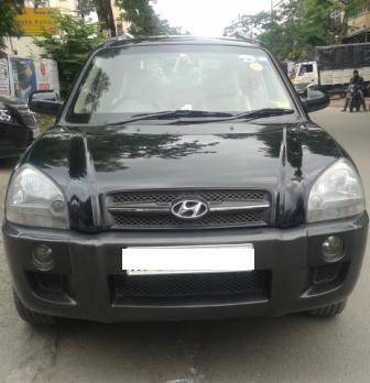 HYUNDAI TUCSON CRDI:MODEL 06/2007, KM 82732, COLOUR BLACK, FUEL DIESEL, PRICE 550000 NEG.USED VEHICLE FOR SALE COMPLEAT SHOWROOM TRACK. - by Nani Used Cars, Hyderabad