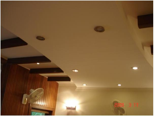 Residence interior in Noida sector 10 FALSE CEILING (ALL TYPES OF DESIGNERS  CEILING) 1 Gypsum ceiling 2 Grid ceiling 3 Pvc ceiling 4 Metal ceiling Best Residence Interior In Noida