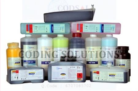 Continuous Inkjet Consumables   Our company is a professional Manufacturers of Continuous InkJet Inks and Fluids . We supply best quality CIJ Fluids like Inks, Makeup, Cleaning Solutions compatible with Continuous Inkjet Printers Like   # D - by Coding Solutions, Coimbatore