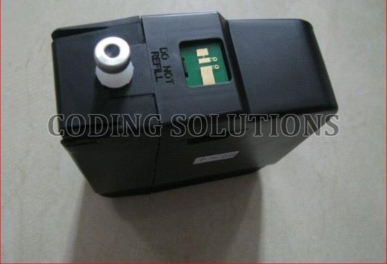 Videojet Ink Cartridge With Chip   CODING SOLUTIONS offer Videojet Inkjet Inks & Makup for suitable printers. Wide range of specialty and general purpose inks are available for the Videojet Printers. We do offer complete Cartridge and Chip  - by Coding Solutions, Coimbatore