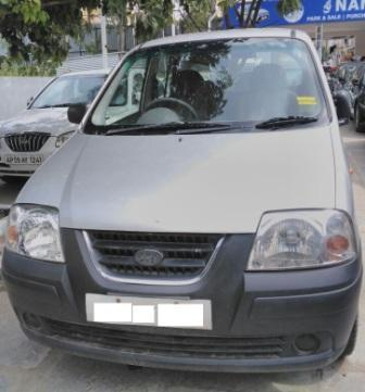 HYUNDAI SANTROXP:MODEL 03/2005, KM 60000, COLOUR SILVER, FUEL PETROL, PRICE 175000 NEG.USED VEHICLE FOR SALE COMPLEAT SHOWROOM TRACK. - by Nani Used Cars, Hyderabad