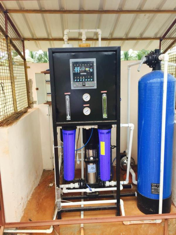 250 lph RO Plant . Compact RO plant costs 70, 000 Rs. Only . Cheapest RO plant ever in market . Unique design . Withstand higher salt content in bore well water .  - by GRM Envirotech Solutions, Coimbatore