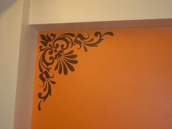 Corners!!! They too need beauty. Why leave the corners of ur house dull & dead, enhance them with Shellyswalls. Customised Wall Art, Wall Decal, Wall Tattoo by Shellyswalls Www.shellyswalls.com #creative #designs #designer #wallart #walldec - by Shellys Walls, Mumbai