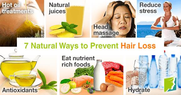 7 Natural Ways to Prevent Hair Loss!  1. Hot Oil Treatments  Any natural oil (e.g., coconut or olive) works for this. Just heat up the oil until it is warm (not hot, despite the name), and massage it gently into the scalp. Put on a shower - by Weight Loss Hyderabad, Hyderabad