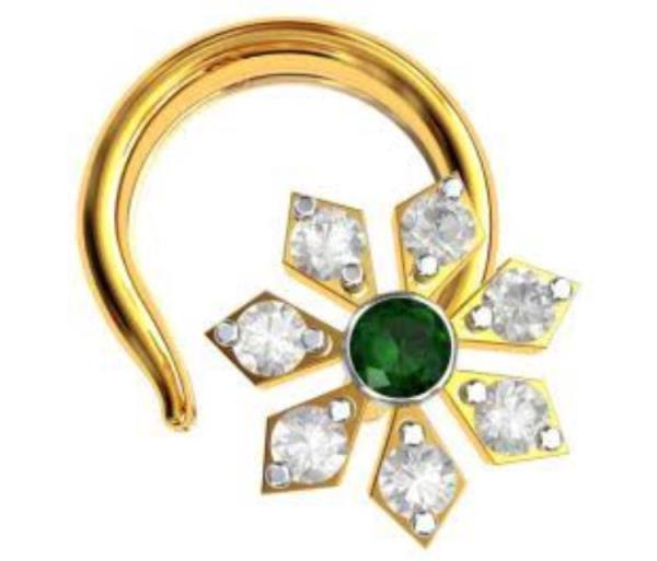 This is Gold Nose Pin. we have wide rang of Gold Jewellery like Nose Pins, Gold Earrings, Pendants, Ring and many more.... Gold Nose Pins Manufacturer in Jaipur.