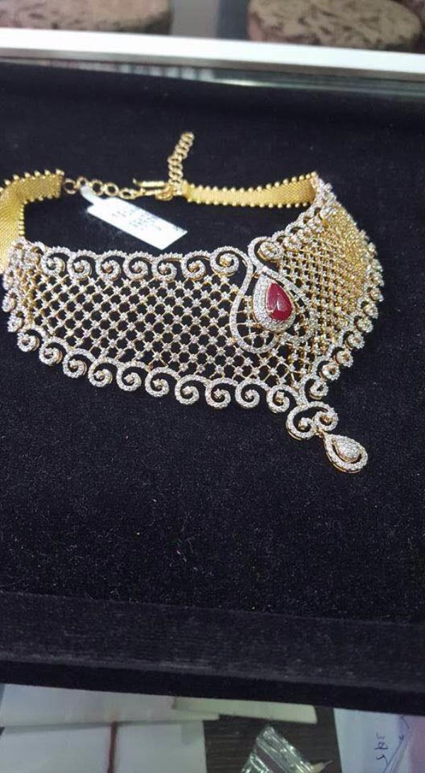 Best Diamond Neckless shops in Chandra layout  New choices of collection of diamond