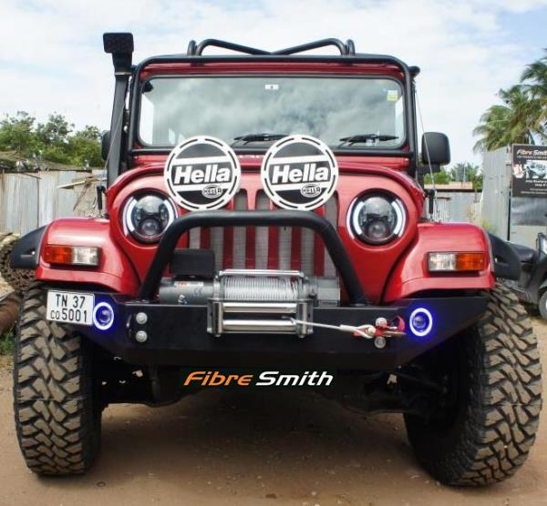Fibre Smith, A well-known Manufacturer and Supplier of Fibre Reinforced Plastic (FRP) products. We offer a wide range of FRP products that includes Jeep FRP Hard Tops, FRP Front grills, FRP wheel arch, 4 x4 Accessories for jeep.  Thar Hard  - by Fibre Smith, Coimbatore