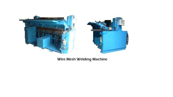 Features: Wire Mesh Welding Machines are design to Weld MS as well as GI material for wire.  Wire Mesh Welding Machine Model WWM4 (4 feet ) , WWM5 (5 Feet ), WWM6 ( 6 feet) , WWM8 (8 feet). Long wire pitch and Cross wire pitch 19 to 100 mm  - by Winner weldingg Corporation, Pune
