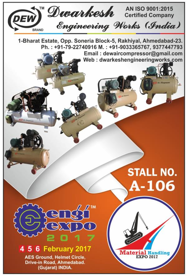 VISIT OUR PARTICIPANT AT ENGIEXPO-2017 (4 - 6 FEBRUARY 2017) AES GROUND, HELMET CIRCLE, VIJAY CROSS ROAD, AHMEDABAD. - by Engi Expo 2017 | 9879111548 | www.engixpo.com, Ahmedabad