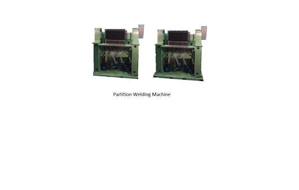 PARTITION WELDING MACHINE It can be used for poultry cages. Maximum Width of the mesh- 2 feet , wire dia. 2 to 4 mm. It can weld MS, / GI Wires. Water cooled encapsulated transformer. Microprocessor based weld control. - by Winner weldingg Corporation, Pune