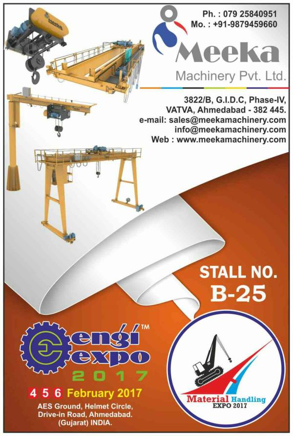 VISIT ENGIEXPO 2017 ( 4 - 6 FEB) MEET OUR VALUABLE PARTICIPANT AT AES GROUND, HELMET CIRCLE, DRIVE IN ROAD, AHMEDABAD. - by Engi Expo 2017 | 9879111548 | www.engixpo.com, Ahmedabad