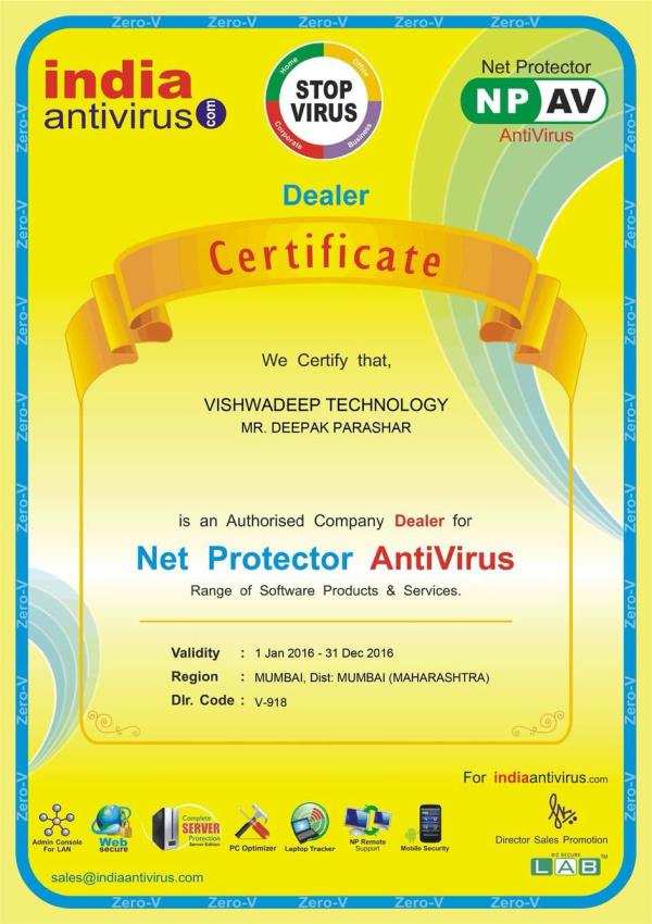Remove virus .. Call us and get the best price - by Vishwadeep Technology, Mumbai Suburban