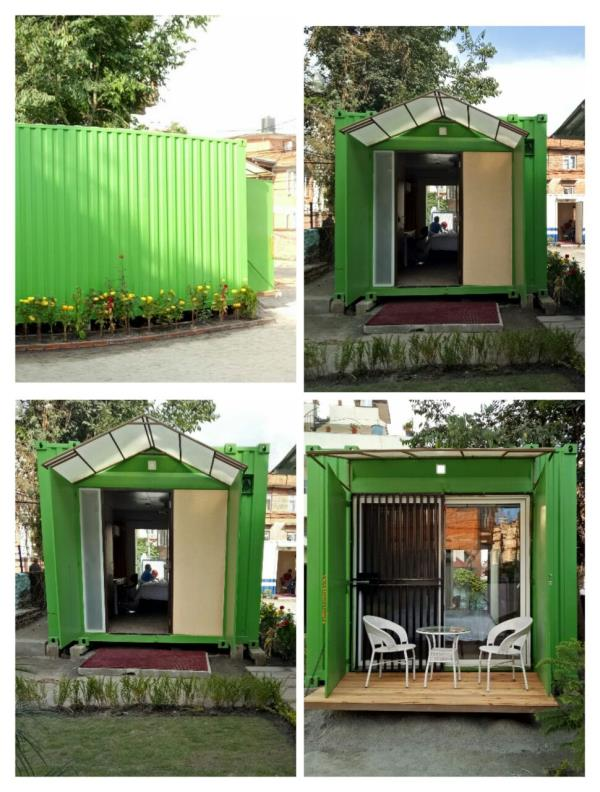 CONTAINER HOME / CONTAINER HOTELS  Twists & Attraction –  They look ordinary containers from outside. But if you Look at the inside, you will be surprised. They are very Portable.. You can lift and carry them anywhere you want.. They are re - by Akash Enterprise, Ahmedabad