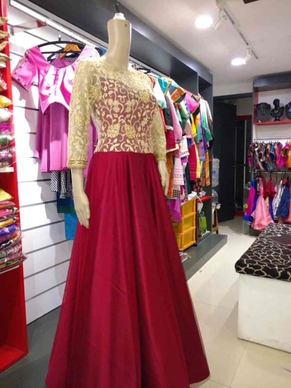 designer dress in btm layout