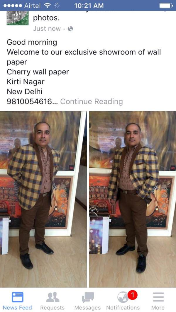 Good morning all !!!  💐💐Good News💐💐  On the arrival of festive season, We have revised our dealer selling prices for hot selling wall paper collections. the Wallnpaper books are as follows     *Prem*  *Creation*      *Fashion*      *Pla - by Soch Trading Company, New Delhi