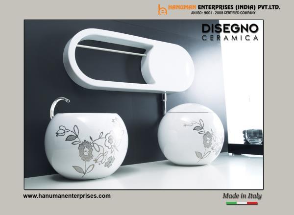 The Stunning design of Floor Mounted Toilet can add perfect look to any designer bathroom. For more info visit at www.hanumanenterprises.com - by Hanuman Enterprises India Pvt. Ltd., Hyderabad