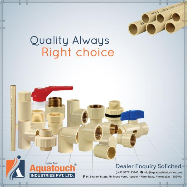 #Quality Always Right #Choice and better #Materials #AquatouchIndustries - by Aquatouch Industries Pvt Ltd, Ahmedabad