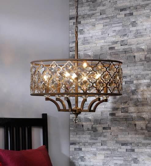 Vintage lighting by Jainsons EMPORIO Colonial look chandelier in delhi.  Rustic look and vintage look