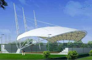 Tensile Membrane Structures are designed to cover any type and any size of area for various types of covering. Like Food Court Cafe Area Restaurant Car parking Entrance canopy Garden Gazebos ect.   For More Info   www.arcwaytensilestructure - by Arcway Tech Structures, New Delhi
