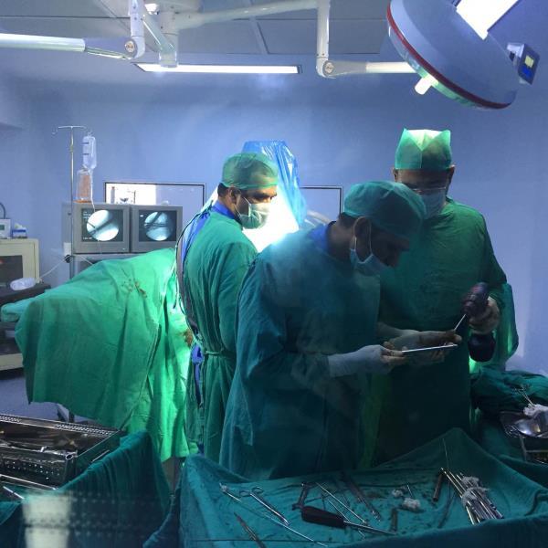 Trauma in Mata Roop Rani maggo hospital - by Mata Roop Rani Maggo Hospital, New Delhi