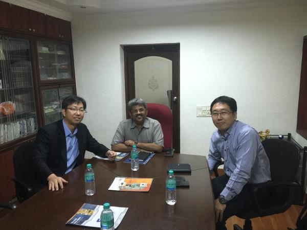 Meeting with Korean delegation to represent them in India  - by GMT ENGINEERS (P) LTD, chennai