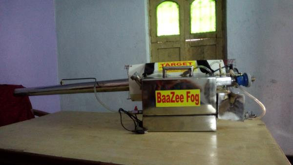 Fogging Machine is used to control mosquitoes. we manufacture fogging portable and vehicle mounted. we also provide fogging service in Banjara Hills, Jubille Hills, Secunderabad ec.  - by Target Pest Controls  'n'  Equipments, Hyderabad