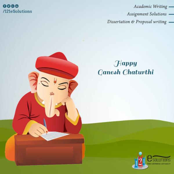 "#AcademicWriting, #AssignmentSolutions, #Dissertation & #ProposalWriting  ""May lord Ganpati bless you… With the treasure of… Health , Wealth & Happiness...""#121esolutions - by 121eSolutions, London"