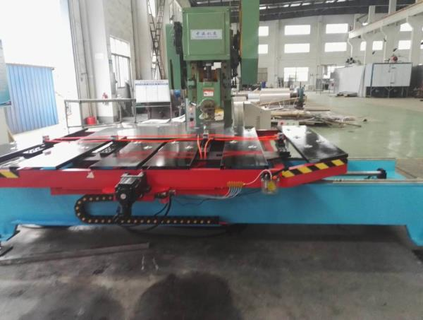 Economical CNC  feeder table with power press combination for manufacturing of sheet metal parts  - by GMT ENGINEERS (P) LTD, chennai