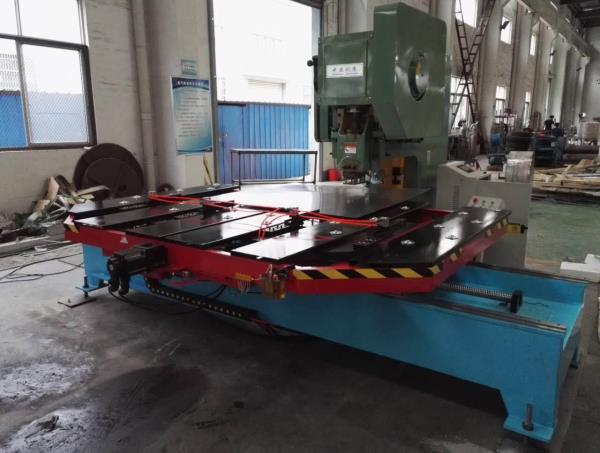 X Y table with high speed press  - by GMT ENGINEERS (P) LTD, chennai