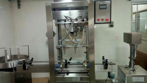 EVA PACK machinery is manufacturer and supplier all types of liquid filling machine like syrup filling oil filling pesticides liquid filling dry syrup hair oil filling master oil filling all types of industries and Capping machine also like - by Eva Pack Machinery, Ahmedabad