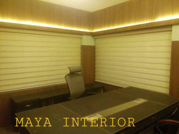 Roller , Zeebra , vertical, & exterior pvc blinds in Madurai. - by Maya Interior @ 9944015030, Madurai
