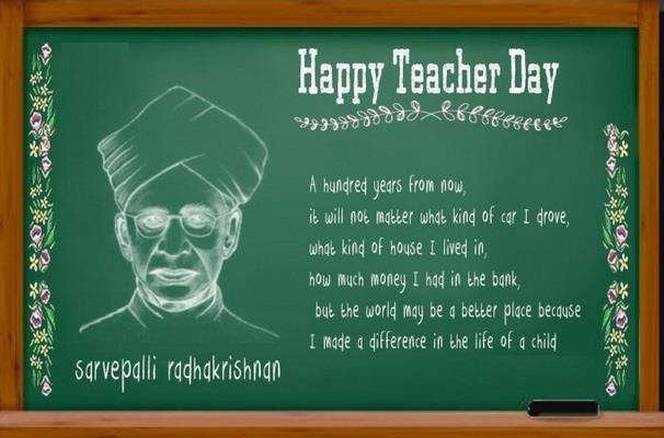Wishing you a very Happy Teachers Day and Happy Ganesh Chaturthi🎉🎉 - by TheWebHoster, Delhi