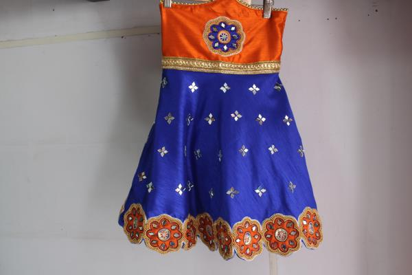 kids wear.. patch work dress for a one year old. #boutiquesinbangalore  - by The Cut Fashion Boutique, Bangalore