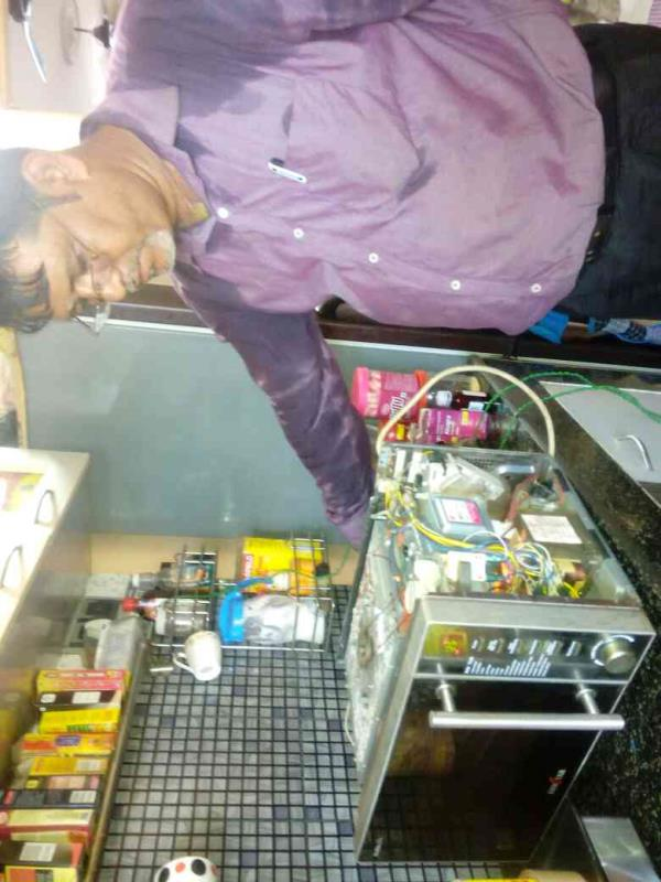 I F B MICROWAVE OVEN REPAIR SERVICES IN SALT LAKE - by Hi Tech Services, Kolkata