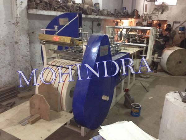 As per the specific needs of the clients, we are engaged in providing a high quality range of Paper Bag Making Machine that is used to design paper bags. As per the defined industry norms, this machine is designed and manufactured by our sk - by Paper Bag Making Machine // Automatic Paper Bag Making Machine //Mohindra Mechanical Works # 09999778804, New Delhi