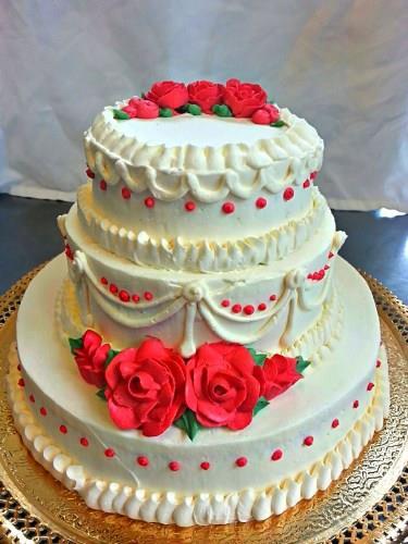 Wedding Cake in Kodambakkam  - by The Cake Shop, Chennai