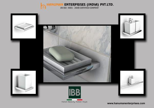 Add an elegant touch to your bathroom decor with this designer bathroom accessories by IBB. For more info visit at www.hanumanenterprises.com - by Hanuman Enterprises India Pvt. Ltd., Hyderabad
