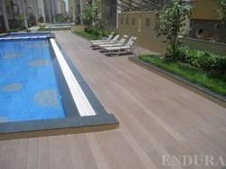 Outdoor Long Deck Flooring Contractor in Chennai  Multipurpose and versatile, Deck Flooring is the ideal solution for creating areas of outstanding comfort and elegance even outdoors. The warm veining of the wood means that Deck Flooring bl - by Endura Floors & Furnishings, Chennai
