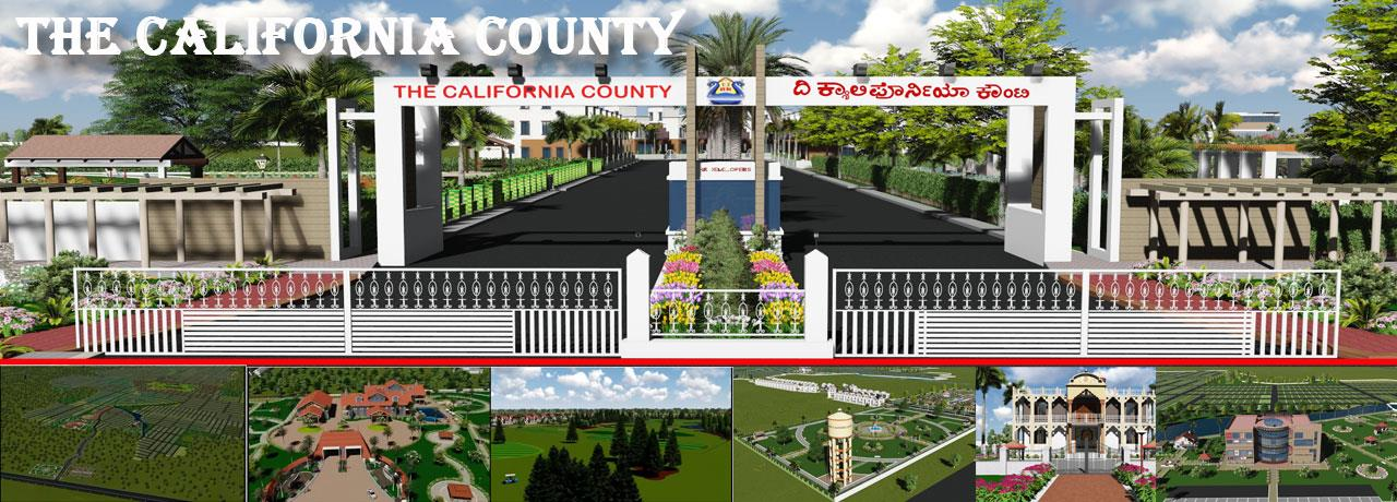 "sites near devanahalli, R.K.Enterprises   brings you ""The California County"", A+ Category a 500 acres township project situated in a green valley surrounded by landscaped hills. The California County is a villa project with international am - by RK CALIFORNIA, Bangalore"