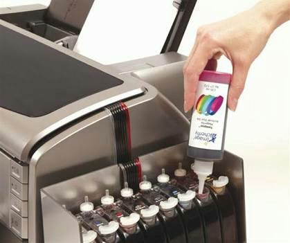 Refilling for black & white Printers  and Colour Printers