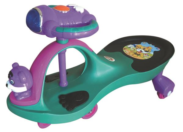 Peachbag proudly presents EZ'PLAYMATES MAGIC CAR AERO PREMIUM - GREEN. Best features of this kids manual ride-on swing car are :  -AGE -3 TO 4 YEARS -BATTERY OPERATED-NO -MELODIOUS MUSICAL HORN -LED LIGHTS ON THE STEERING WHEEL  To Buy Onli - by PEACHBAG, Chennai