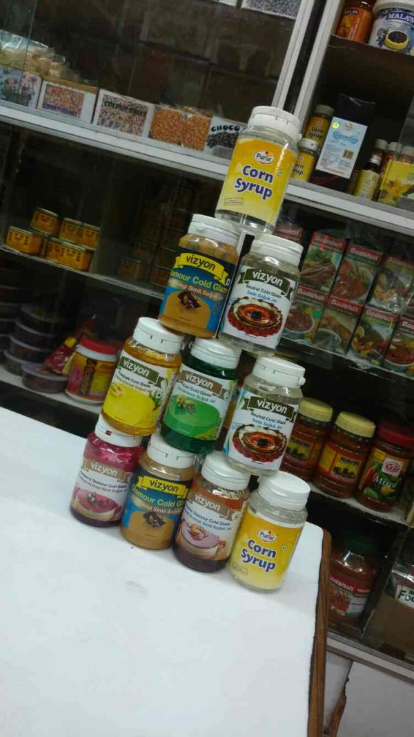 A variety of cake glaze gels available.... now at Chawla Essence Mart - by CHAWLA ESSENCE MART, Hyderabad