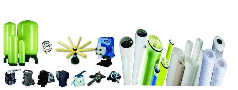 all water treatment components