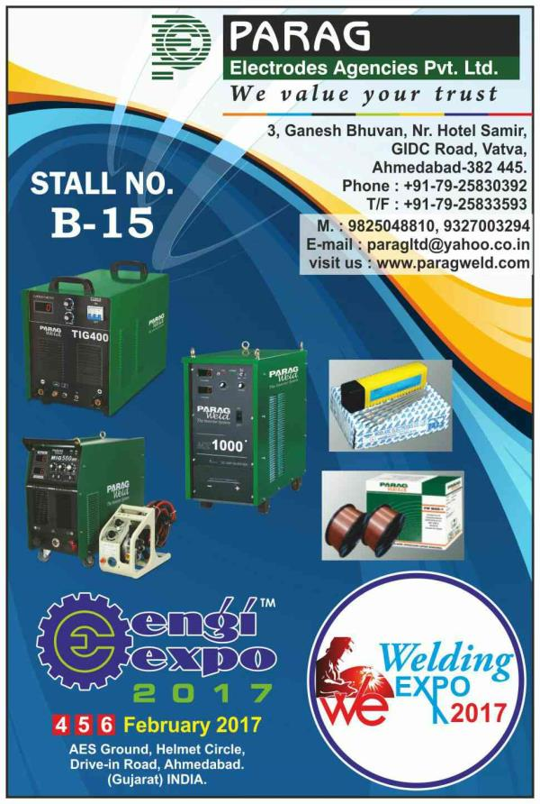 WELDING & CUTTING EXPO - 2017 - by Engi Expo 2017 | 9879111548 | www.engixpo.com, Ahmedabad