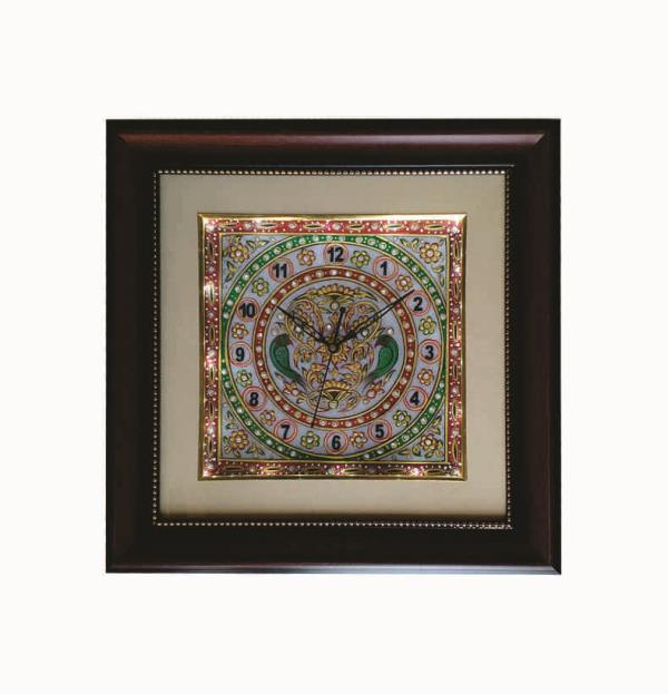 LED MARBLE GANESHA WALL CLOCKS  an antique quality and Design wall clocks are made by the hands of the expert artisan of Jaipur with the Fine and Antique Quality Hand Painted and Stone Art work. LED Marble Ganesha Wall Clocks are made of Quality White Marble with Hand Painted and Colored Stone Art work in Design of Goddess Which make this item Decorative and Antique for the Festival time and use for Gift purposes to loved ones , family and friends.  We