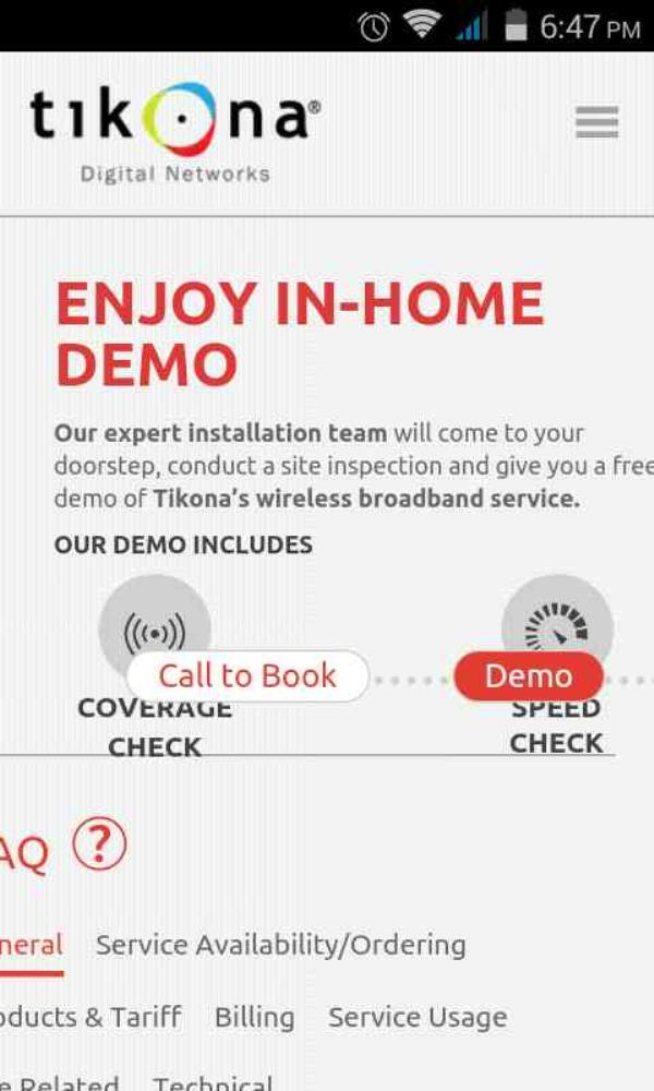 FREE HOME DEMO        CHECK SPEED THEN PAY               QUICK ACTIVE... - by Tikona Internet Provider Dwarka,palam +919718387660, Dwarka Sec-1 New Delhi