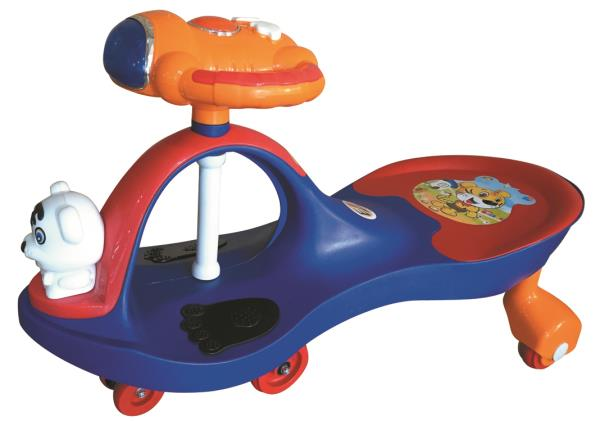 Peachbag proudly presents EZ' PLAYMATES MAGIC CAR AERO PREMIUM - BLUE. Best features of this kids manual ride-on swing car are :  -AGE -3 TO 4 YEARS -BATTERY OPERATED-NO -MELODIOUS MUSICAL HORN -LED LIGHTS ON THE STEERING WHEEL  To Buy Onli - by PEACHBAG, Chennai