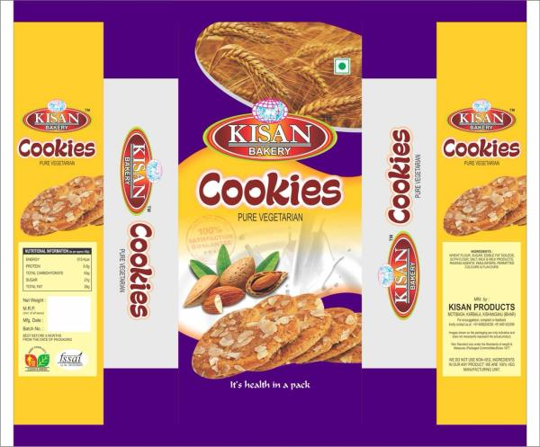 Cookies packaging pouch  - by Kiran plastics, Kolkata