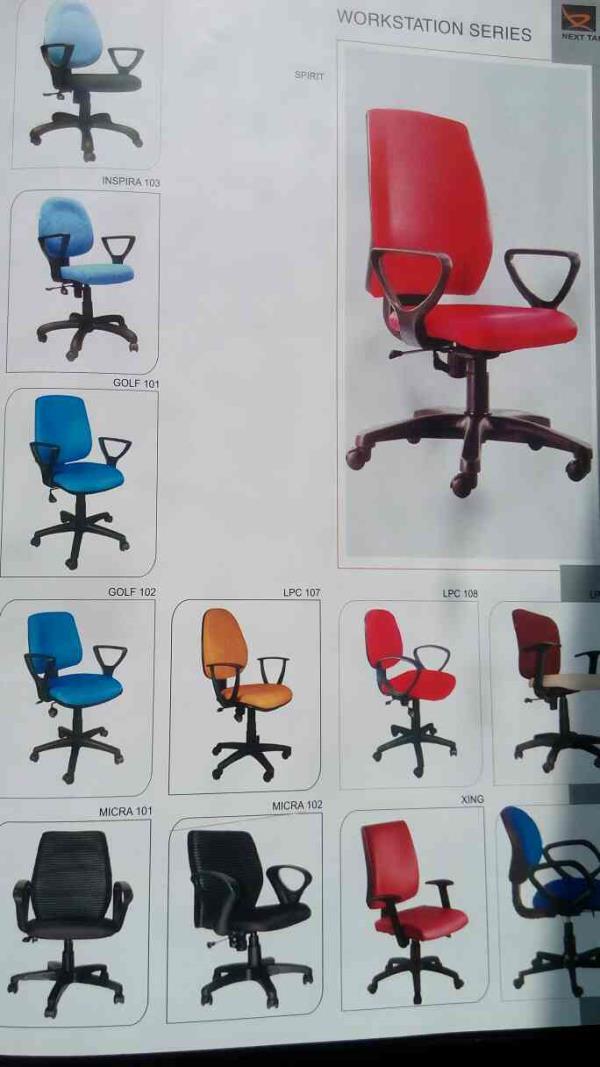 workstation series chair manufacturer in Vadodara Gujarat.