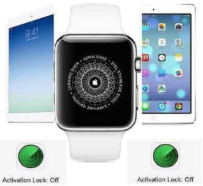 Unlock iCloud activation lock for your ipad /ipod /iwatch ( Only Serial number device ) Contact - +919825323699 - by Iphone Unlocking, Ahmedabad